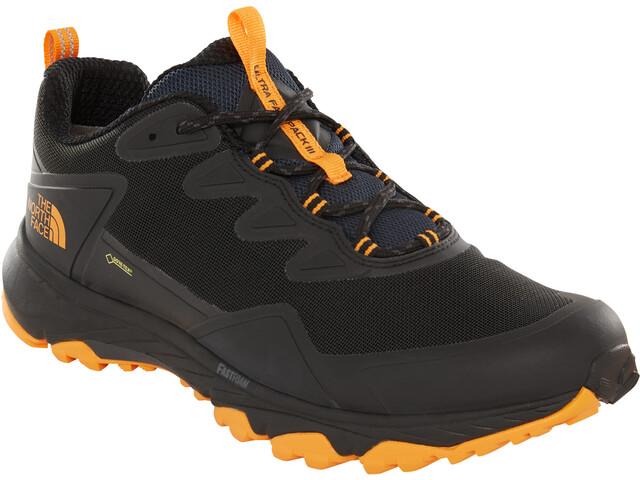 The North Face Ultra Fastpack III GTX Shoes Herr tnf black/zinnia orange